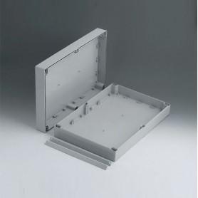 C2124361 / ROBUST-BOX ANCHURA 240, Vers. I - ABS (UL 94 HB) - light grey RAL 7035 - 360x240x80mm - IP 66