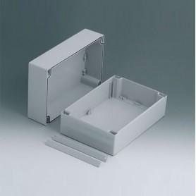 C2416241 / ROBUST-BOX ANCHURA 160, Vers. I - ABS (UL 94 HB) - light grey RAL 7035 - 240x160x120mm - IP 66