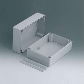 C2416242 / ROBUST-BOX ANCHURA 160, Vers. II - PC (UL 94 HB) - light grey RAL 7035 - 240x160x120mm - IP 66