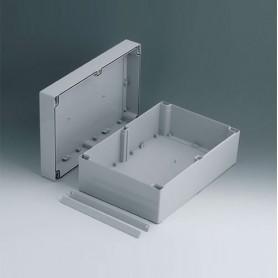 C2420301 / ROBUST-BOX ANCHURA 200, Vers. I - ABS (UL 94 HB) - light grey RAL 7035 - 300x200x120mm - IP 66