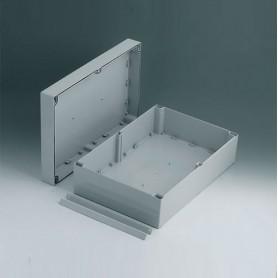 C2424361 / ROBUST-BOX ANCHURA 240, Vers. I - ABS (UL 94 HB) - light grey RAL 7035 - 360x240x120mm - IP 66