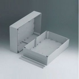 C2524361 / ROBUST-BOX ANCHURA 240, Vers. I - ABS (UL 94 HB) - light grey RAL 7035 - 360x240x160mm - IP 66
