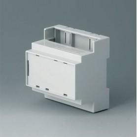 B6704107 / RAILTEC C, 5 módulos, Vers. IV - PC (UL 94 V-0) - light grey - 88x90x58mm