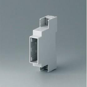 B6700104 / RAILTEC C, 1 módulos, Vers. III - PC (UL 94 V-0) - light grey - 17,5x90x58mm