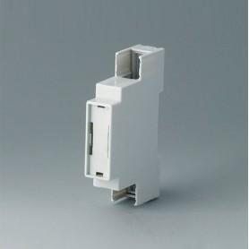 B6700106 / RAILTEC C, 1 módulos, Vers. IV - PC (UL 94 V-0) - light grey - 17,5x90x58mm