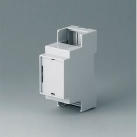 B6701106 / RAILTEC C, 2 módulos, Vers. IV - PC (UL 94 V-0) - light grey - 36x90x58mm