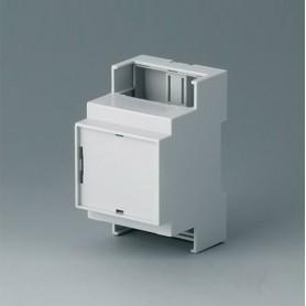 B6702106 / RAILTEC C, 3 módulos, Vers. IV - PC (UL 94 V-0) - light grey - 53x90x58mm