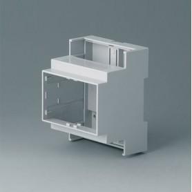 B6703100 / RAILTEC C, 4 módulos, Vers. I - PC (UL 94 V-0) - light grey - 71x90x58mm