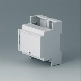 B6703106 / RAILTEC C, 4 módulos, Vers. IV - PC (UL 94 V-0) - light grey - 71x90x58mm