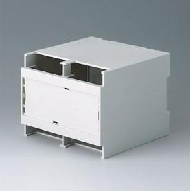 B6705706 / RAILTEC C, 6 módulos, Alto - PC (UL 94 V-0) - light grey - 107x90x114mm
