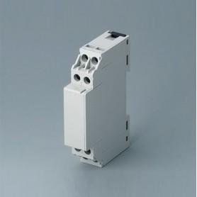 B6700120 / RAILTEC CM ANCHURA 17.5 - ABS (UL 94 V-0) - grey - 18x89x54mm