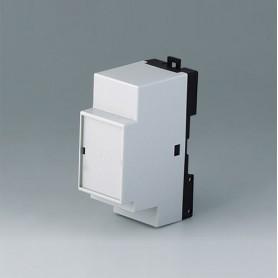 B6511113 / RAILTEC B, 2 módulos, Vers. XIII - PC (UL 94 V-0) - light grey RAL 7035 - 35x86x58mm