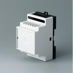 B6502118 / RAILTEC B, 3 módulos, Vers. IV - PC (UL 94 V-0) - light grey RAL 7035 - 52,5x86x58mm