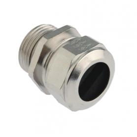 1301.09.090.042 / Prensaestopas Progress® Latón Niquelado - Rosca métrica  para cables planos Pg - Pg 9