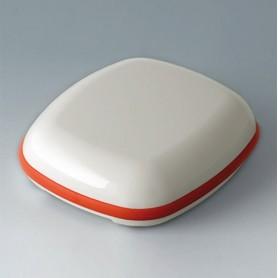 B1608107 / BODY-CASE XL: sin hendidura - ASA (UL 94 HB) - traffic white RAL 9016 - 62x56x18mm - IP 65