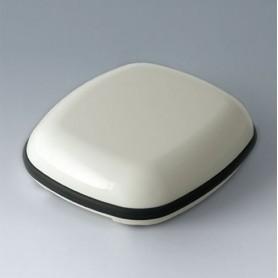 B1608117 / BODY-CASE XL: sin hendidura - ASA (UL 94 HB) - traffic white RAL 9016 - 62x56x18mm - IP 65