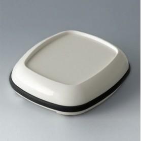 B1608217 / BODY-CASE XL: con hendidura - ASA (UL 94 HB) - traffic white RAL 9016 - 62x56x17mm - IP 65