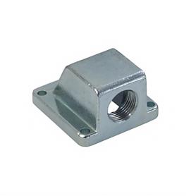 5517 / Prensaestopas Codo con brida de zinc 90 ° fundición a presión - M16x1.5