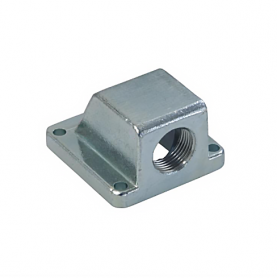 5513 / Prensaestopas Codo con brida de zinc 90 ° fundición a presión - Pg 13