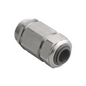1000.17.85.100 / Prensaestopas Progress® EMC Serie 85 de latón niquelado con pinza de sujeción - Rosca métrica entrada - M16x1.5
