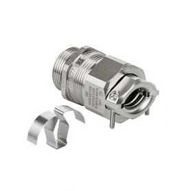 EX1813.83.12.065 / Progress® EMC easyCONNECT abrazaderas Seguridad incrementada Ex e II - Rosca métrica entrada LARGA - M12x1.5