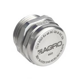 EX2450.12.34 / Elemento de equilibrio de presión con membrana Seguridad incrementada Ex e II - M12x1.5