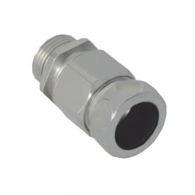 1710.60.12.1/4 / Comb.glándulas conductoras Progress® Latón niquelado con prensaestopa integrado - Rosca métrica LARGA - M12x1.5