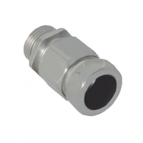 1710.60.17.14 / Comb. glándulas conductoras Progress® Latón niquelado con prensaestopa integrado - Rosca métrica LARGA - M16x1.5