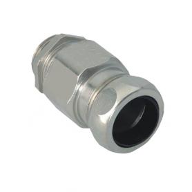 1700.40.11/4 / Comb. glándulas conductoras Progress® Latón niquelado con prensaestopa integrado - Rosca métrica CORTA - M40x1.5