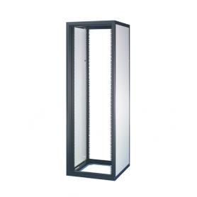 10117-529 / Armario Eurorack sin puertas (43 U / 2000 Al x 600 An x 600 Pr / RAL 7021/7035)