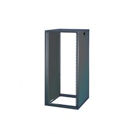 15230-003 / Armario Novastar sin puerta acristalada ni panel trasero - Slim-Line (RAL 7021 / 589 Al x 553 An x 600  Pr)