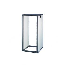 16230-006 / Armario Novastar sin puerta acristalada ni panel trasero - Slim-Line (RAL 7021/7035 / 945 Al x 553 An x 500  Pr)