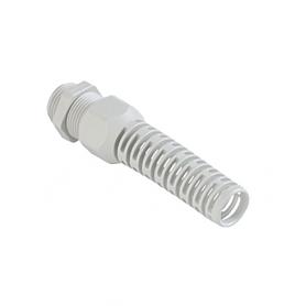 1576.13.07 / Prensaestopas Syntec® sintético tecnología laminar y boquilla anti-dobleces - Rosca entrada Pg - Pg 13