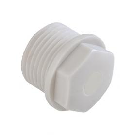 1600.20 / Tapón de bloqueo sintético - Rosca de entrada Métrica - M20x1.5