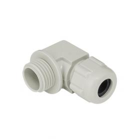 5215.25.155 / Prensaestopas sintético codo 90 ° - Rosca de entrada Métrica - M25x1.5