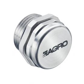 2450.12.32 / Elemento de equilibrio de presión latón niquelado y sintético con filtro sinterizado - M12x1.5
