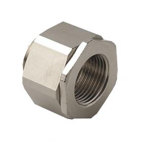 2410.32 / Adaptador giratorio universal AGRO latón niquelado - M32x1.5