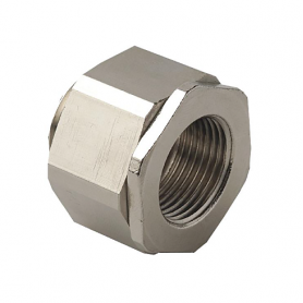 2410.40 / Adaptador giratorio universal AGRO latón niquelado - M40x1.5