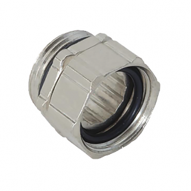 5000.17.50 / Dispositivos de fijación regulables de latón niquelado con junta tórica - M16x1.5