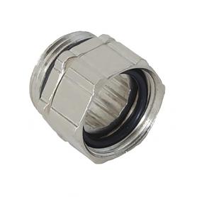 5000.25.50 / Dispositivos de fijación regulables de latón niquelado con junta tórica - M25x1.5