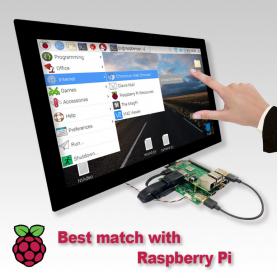 """LCD KIT / Display + Controladora para Raspberry Pi  (Display de 11"""" a 17"""")"""