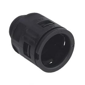 5020.065.203 / Conector Recto para conducto sintético V0 (UL 94) - Diámetro Ext. Ø 10 mm - M12x1.5