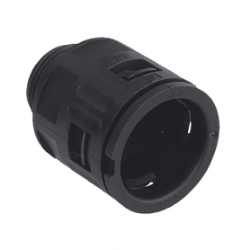 5020.037.220 / Conector Recto para conducto sintético V0 (UL 94) - Diámetro Ext. Ø 21.2 mm - M20x1.5