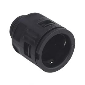 5020.026.214 / Conector Recto para conducto sintético V0 (UL 94) - Diámetro Ext. Ø 18.5 mm - Pg 16