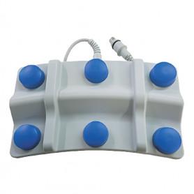6241-0058 / Interruptor de pedal MULTIPEDAL - fuelle de 6 pedales