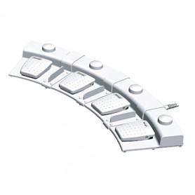 6226-0067 / Interruptor de pedal de 4 pedales y Puckswitch con base de 4 pedales