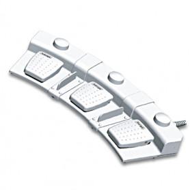 6226-0065 / Interruptor de pedal: de 3 pedales / interruptor de disco: de 3 discos con base