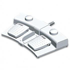 6226-0063 / Interruptor de pedal de 2 pedales y Puckswitch de 2 pedales con base