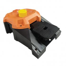 6256 / Interruptor de pedal de alta resistencia HEAVY DUTY con pulsador manual (como opción de seguridad)