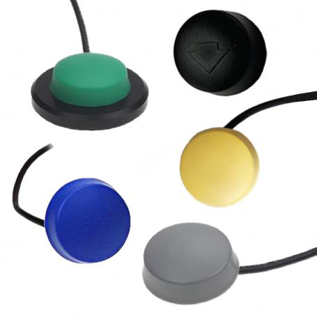 6241 / Interruptores de disco: Interruptor de pedal - Manual de FUELLE (IPX7 - con aprobación médica)